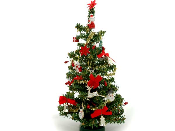 Christmas Tree Decorating Ideas - Christmas Tree Decoration Tips - small decorated christmas trees