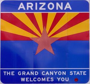 Arizona festival sign image
