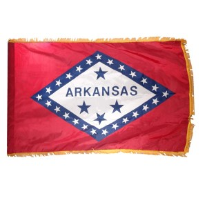 Best Arkansas festivals and events state flage AR