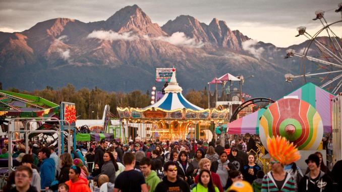 Alaska State Fair festival 2014