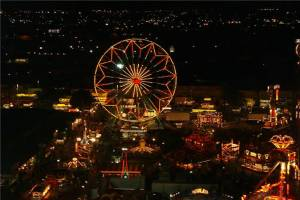 arizona state carnival festival at night