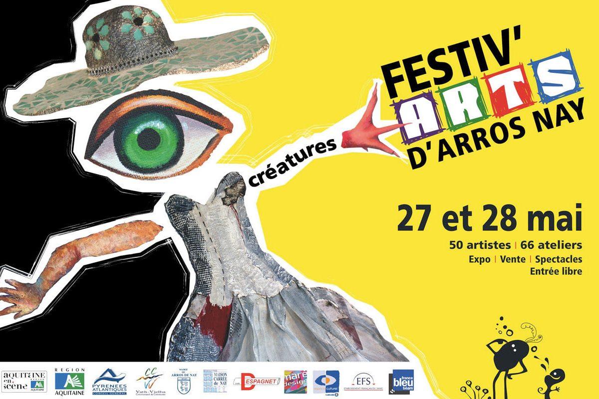 Festiv'Arts 2012, Créatures
