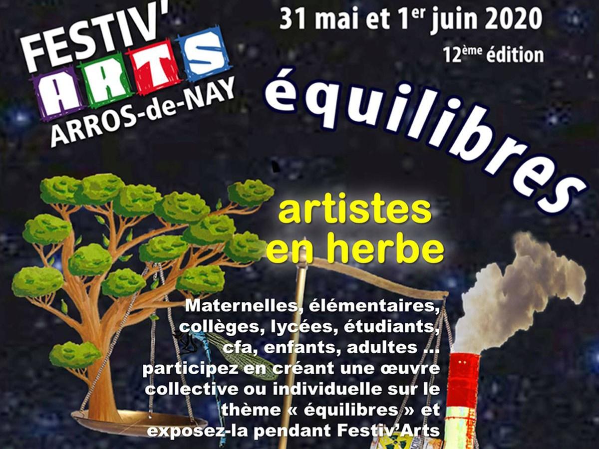 affiche artistes en herbe 2020