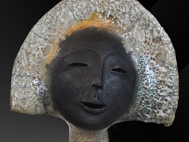 AYUN DORÉ (détail) - Raku (80x19cm) 2017