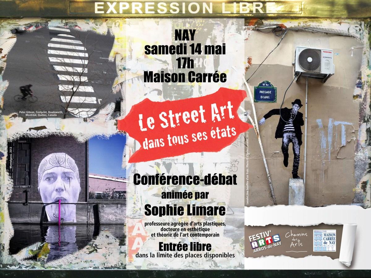 """Conférence de Sophie Limare : """"Le Street Art dans tous ses états"""""""