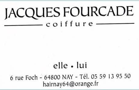 FOURCADE Jacques – Salon de coiffure