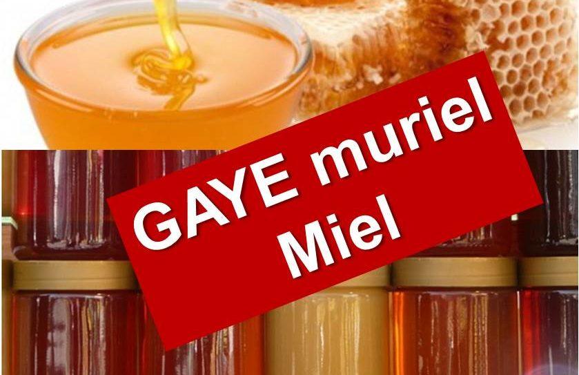 GAYE Muriel – Miel