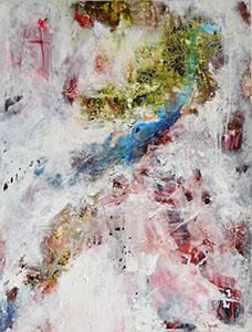 ICE CHAPEL - Huile/toile (116x89cm) 2016