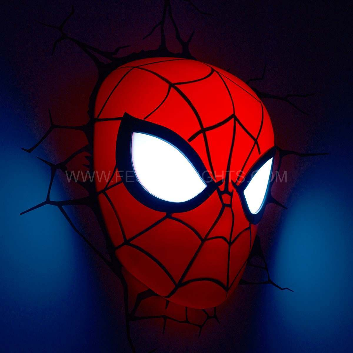 3d Wall Art Night Light Spiderman Light Shop For Cheap Lighting And Save Online