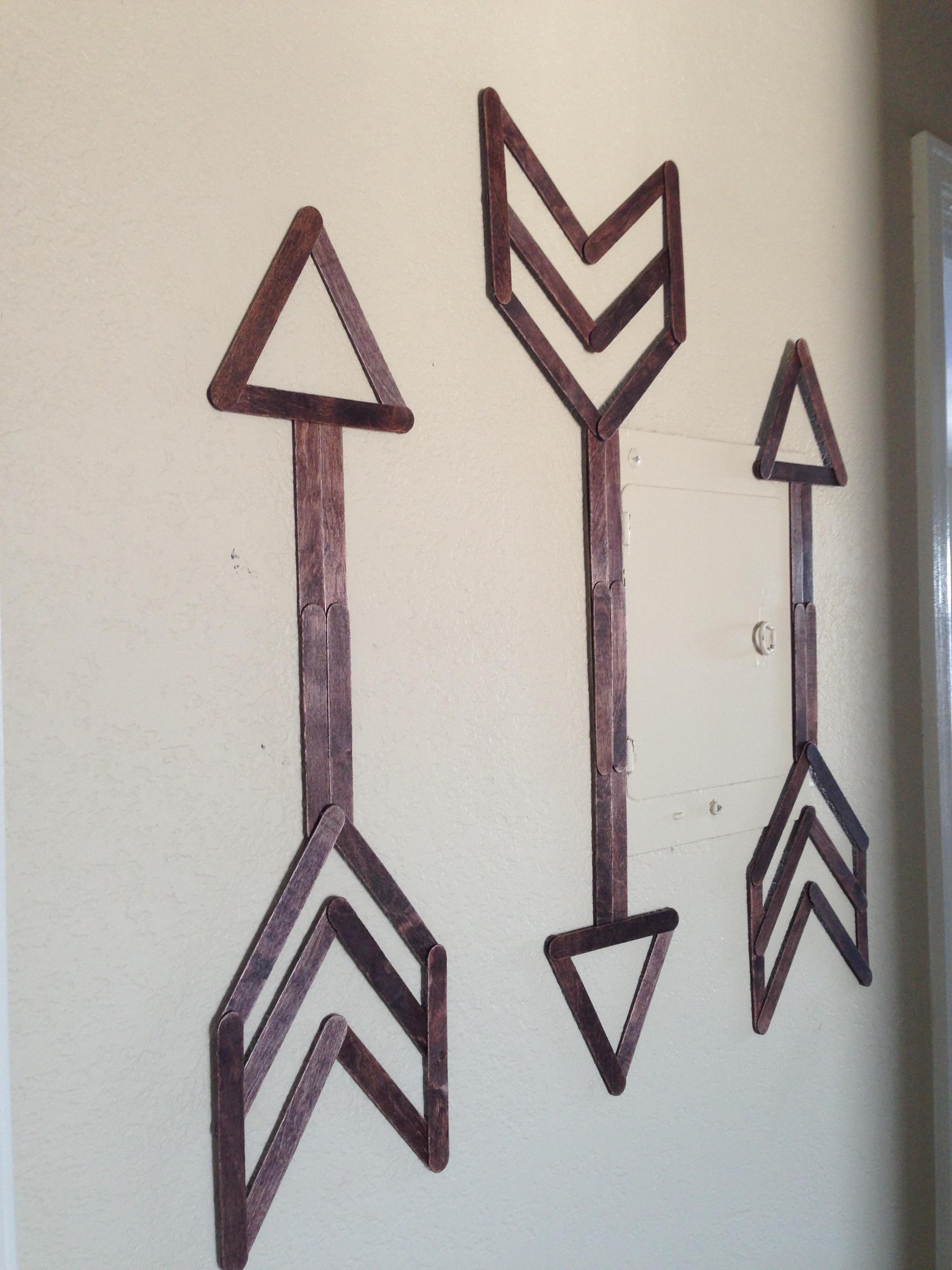 Popsicle Stick Wall Art