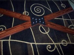 wall mount bdsm cross