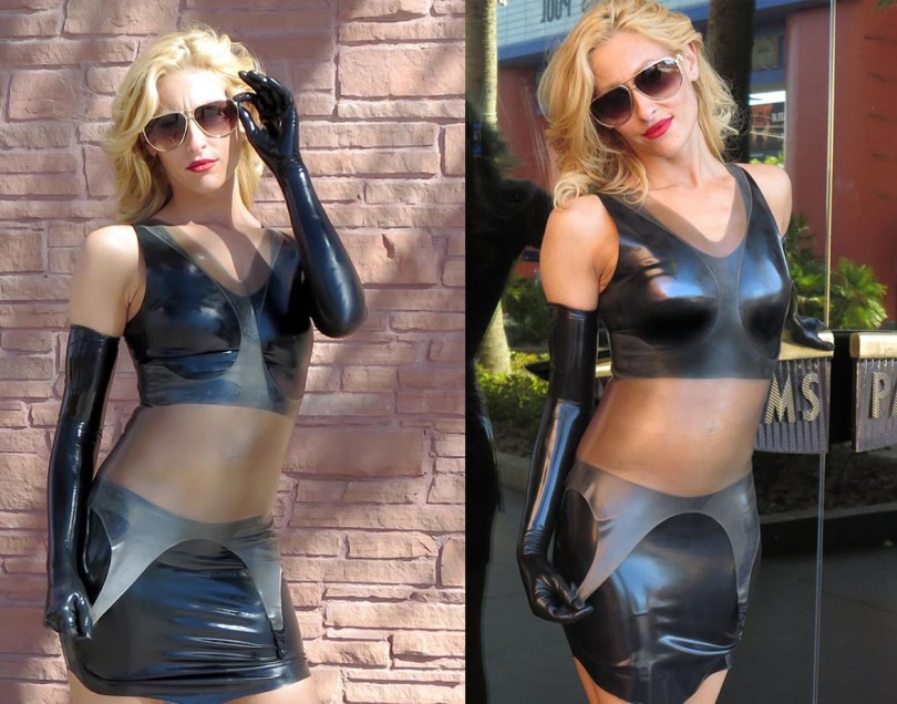 transparent-latex-corselete-and-rubber-mini-latex-top-from-fetisso-latex-clothing
