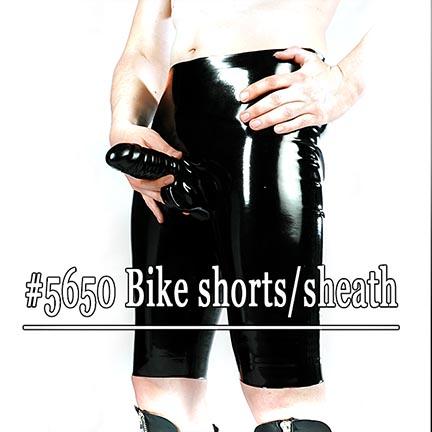 black,latex,fetisso,favorites,mens,long,shorts,sheath,black