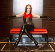 black-latex-leggings-and-red-latex-halter-top-from-fetisso-rubber-clothing