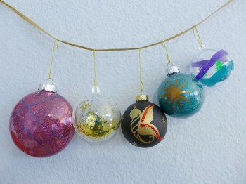 Joni and Tiffany's ornaments