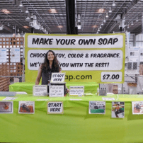 Make Your Own Soap Booth at Bay Area Maker Faire 2014