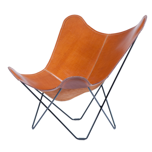 Mariposa Sessel Mariposa Butterfly Chair Leder