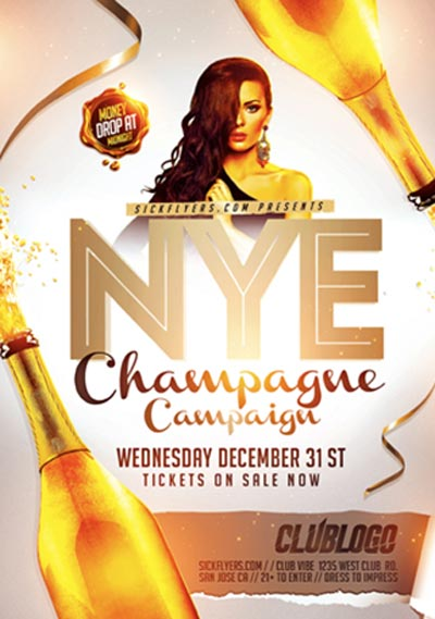 FFFLYER Download New Year Flyer Templates for Photoshop! FFFlyer - campaign flyer template