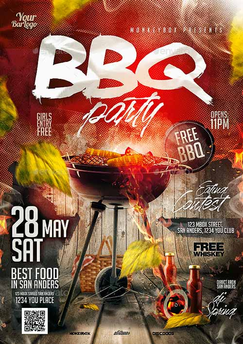 Download the BBQ Bash Flyer Template