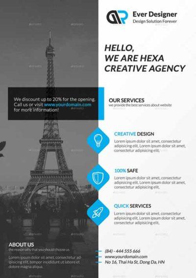 FFFLYER Download Corporate Business Flyer Templates for Photoshop - corporate flyer template