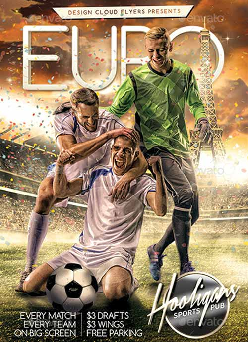 Download the Euro Soccer Flyer Template - soccer flyer template