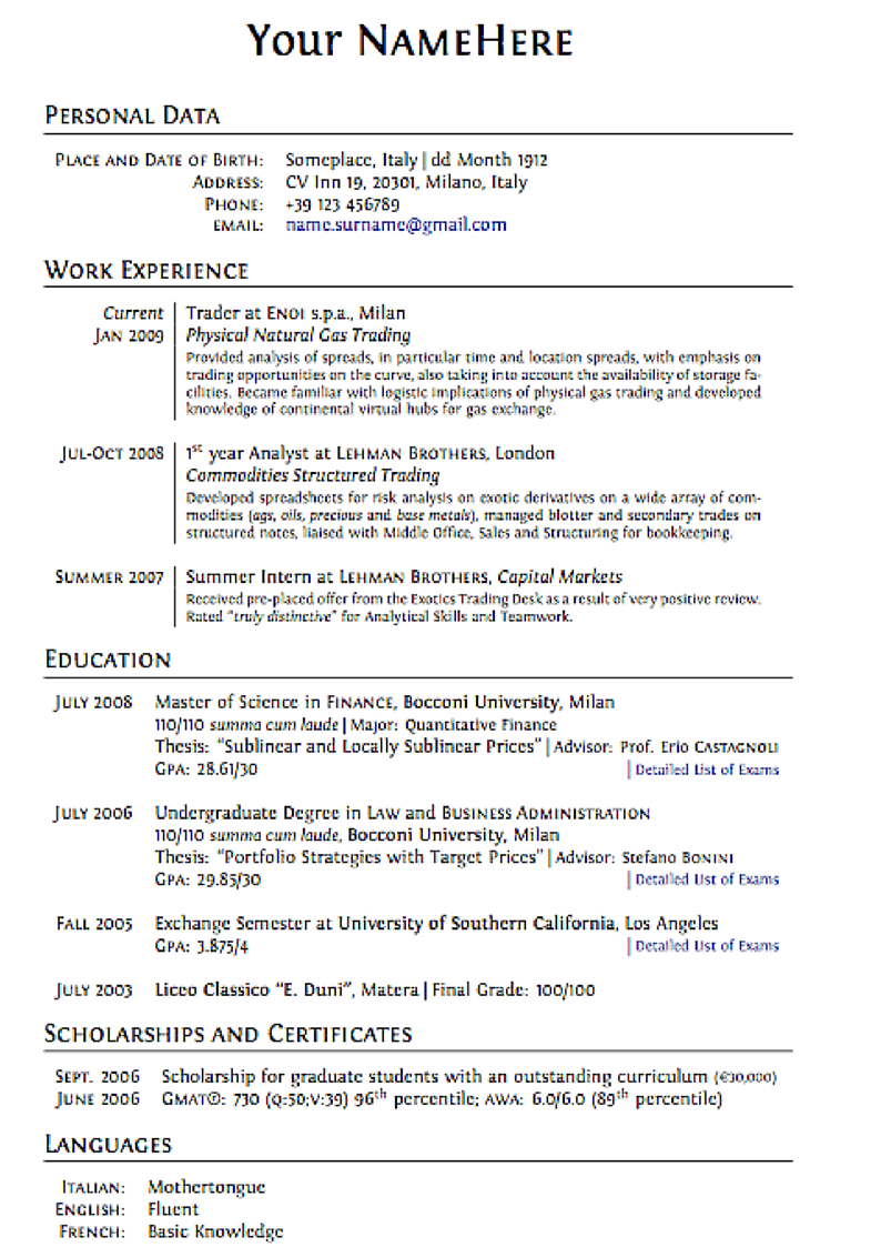 cv format guide bio data maker cv format guide resume format guide what your resume thejobnetwork the unconventional guide for a new