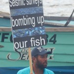 Seismic Survey Protest 1