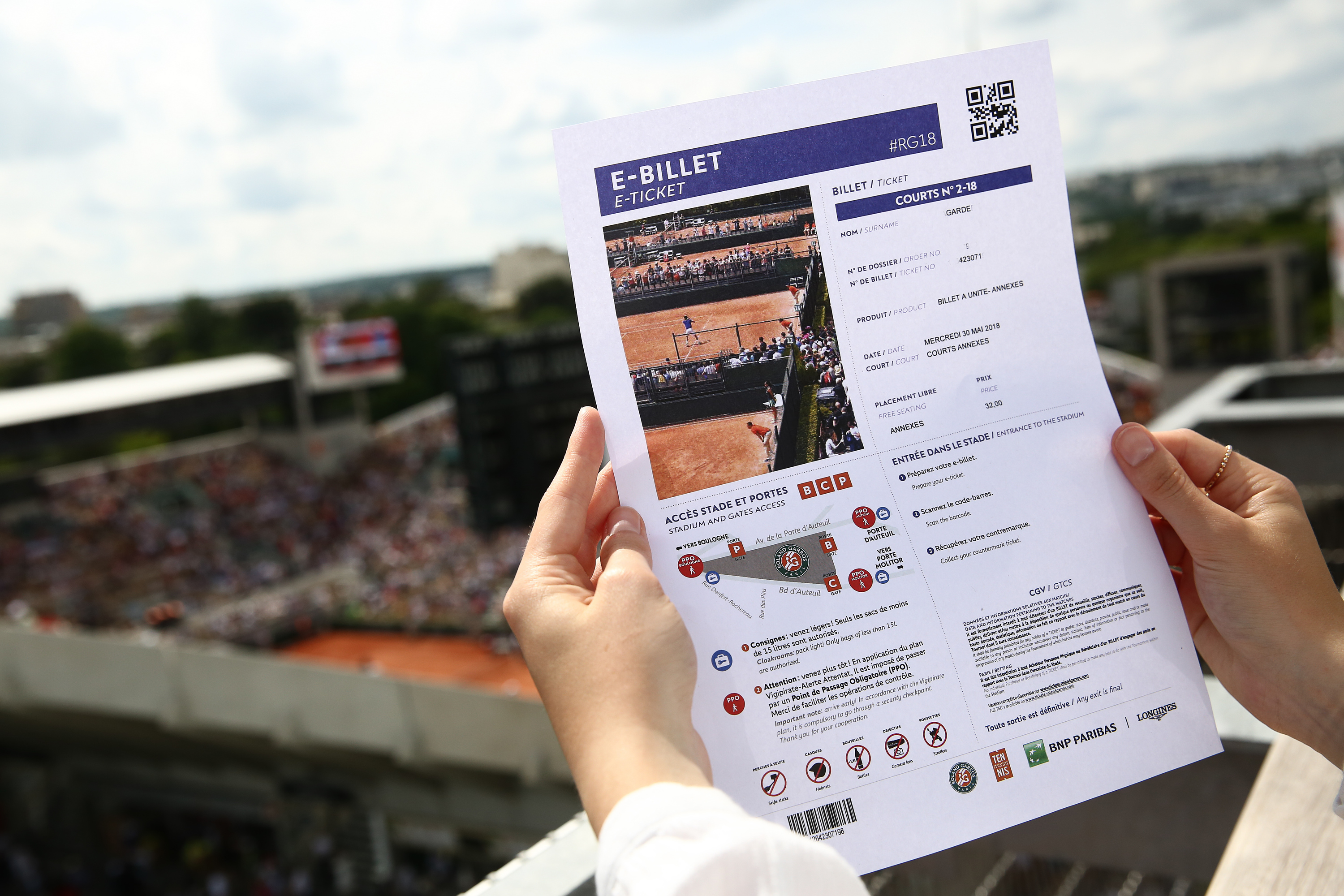 Handson Kweekkas Serre Rg19 How To Get Your Hands On A Ticket Roland Garros The 2019