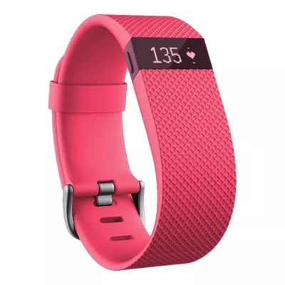 Fitbit Charge HR Fitness Tracker - Pink Large | Sport Chek
