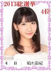 4 【電脳パズル】AKB48総選挙2013ランク順にパズルしよっ!【1~10位】