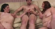 Stroke The Cock With Two BBWs