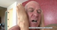 Blonde coed Kaylee Hilton gets fucked with some old dick