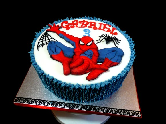 spiderman-birthday-cake