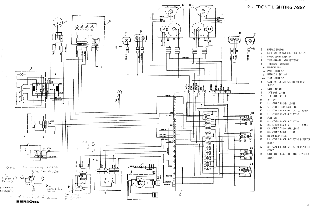 wiring diagram fuel system