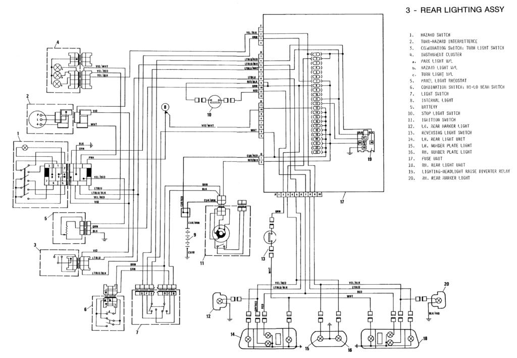 wiring diagram yamaha vixion