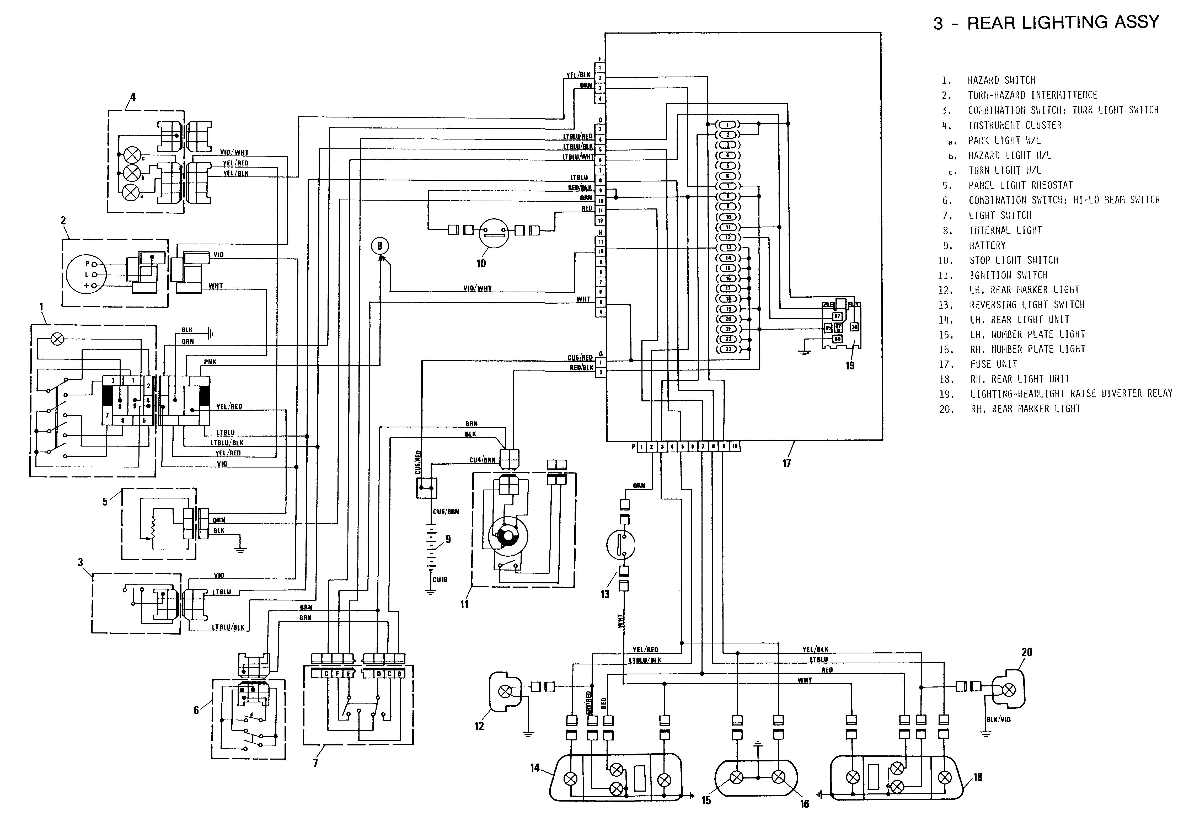 fiat x1 9 workshop wiring diagram