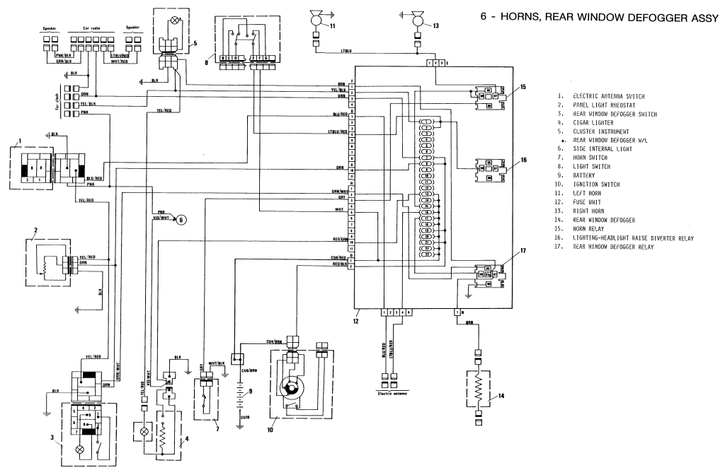 electrical connections diagrams