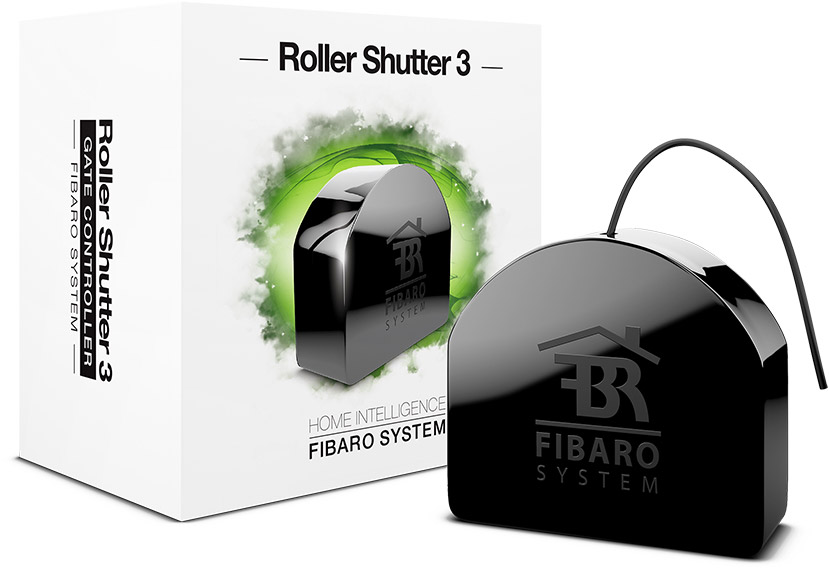Camera Somfy Exterieur Wifi Roller Shutter 3 - Motorized Shades And Blinds | Fibaro