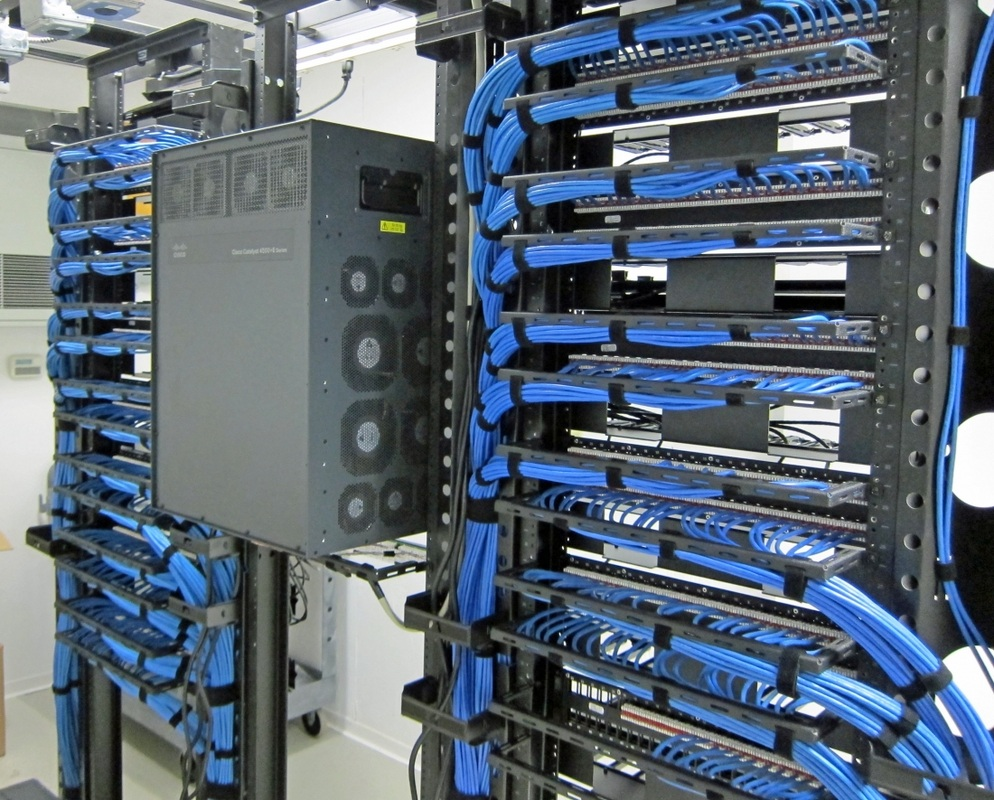 Wire Management Components For Good Network Cable Management
