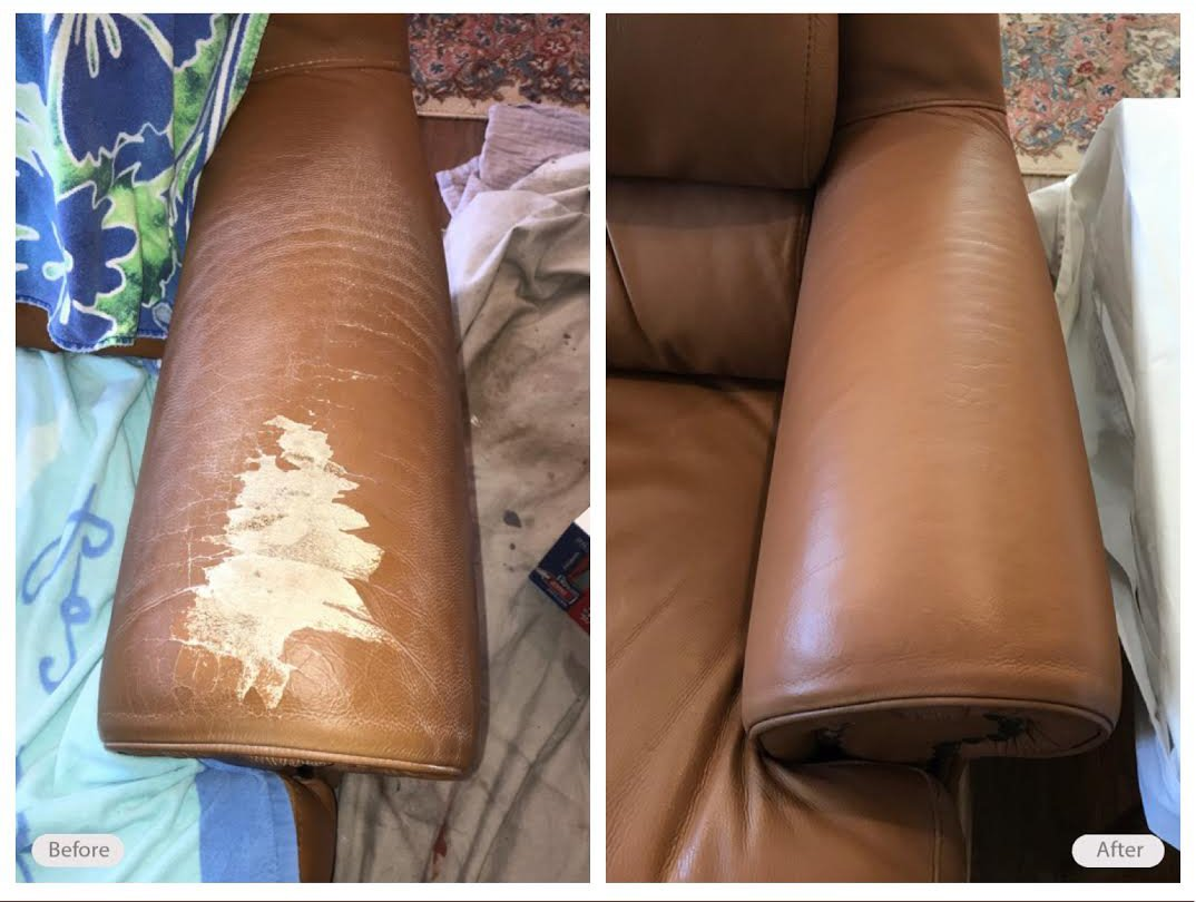 Leather Repair For Furniture Couches Sofas Fibrenew Fibrenew Winnipeg
