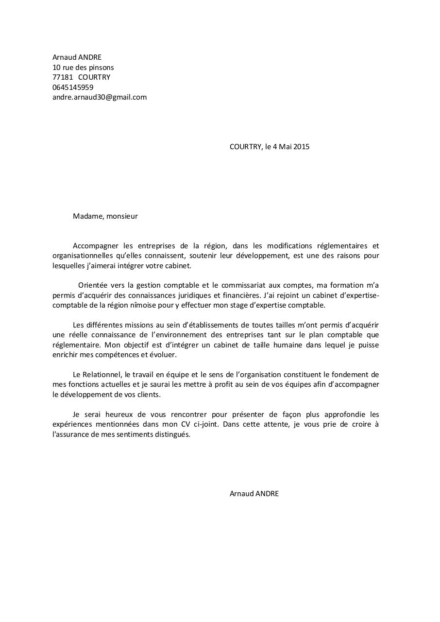 mes cv et lettre de motivation