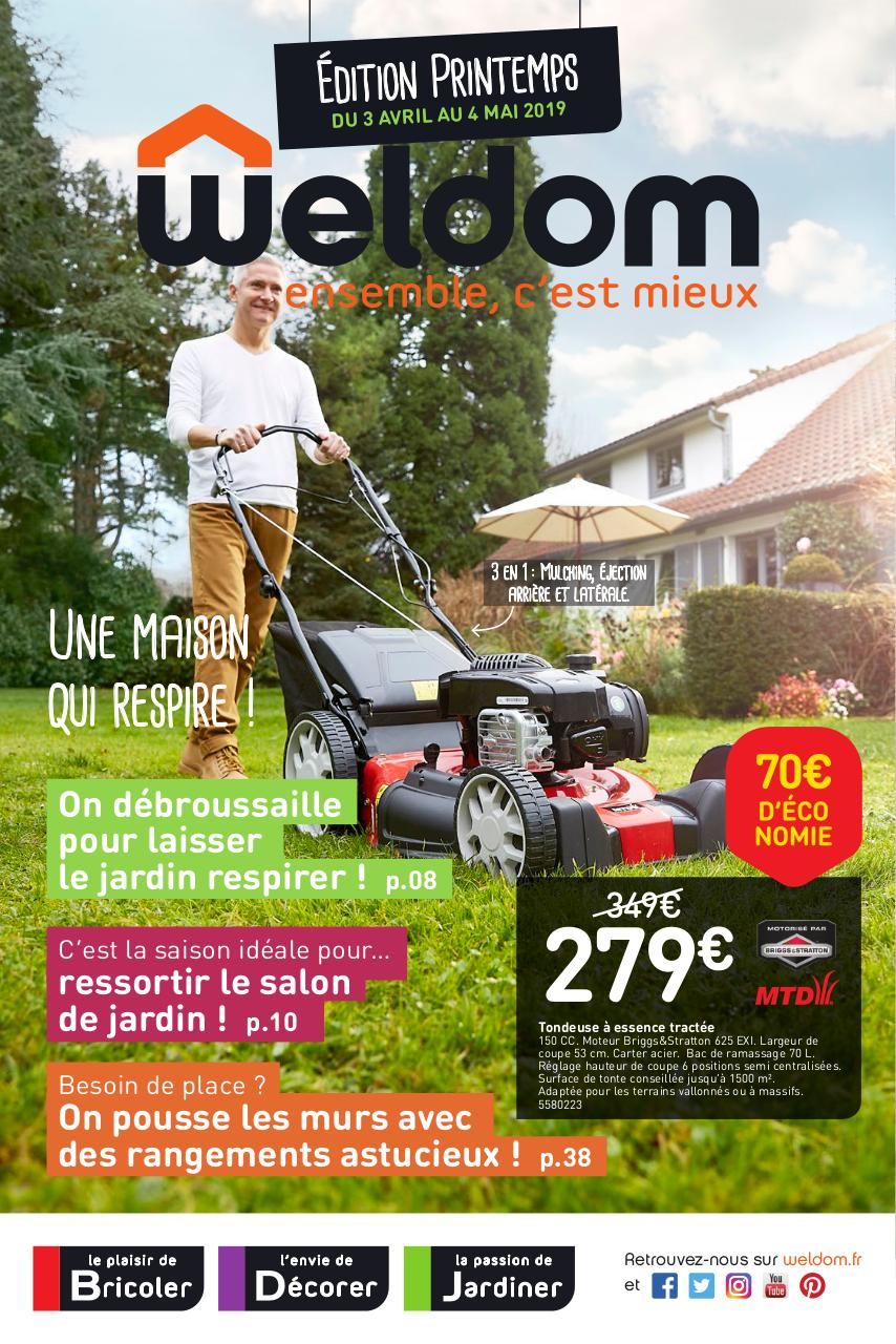 Dalle Exterieur Weldom Weldom Linselles Catalogue Printemps 3 Avril Au 4 Mai 2019