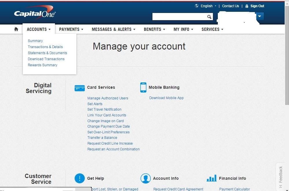 CapitalOne Modify My Features- Gone? - Page 2 - myFICO® Forums - 4243035