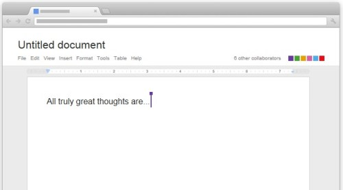Google demo