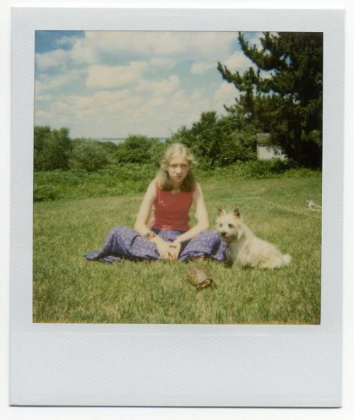 Fig. A: A Polaroid from summer 2001