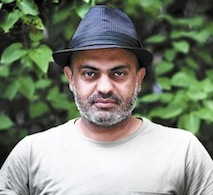 Hassan Blasim [photo by Ahmed Al-Nawas]