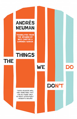 Things We Don't Do Andres Neuman