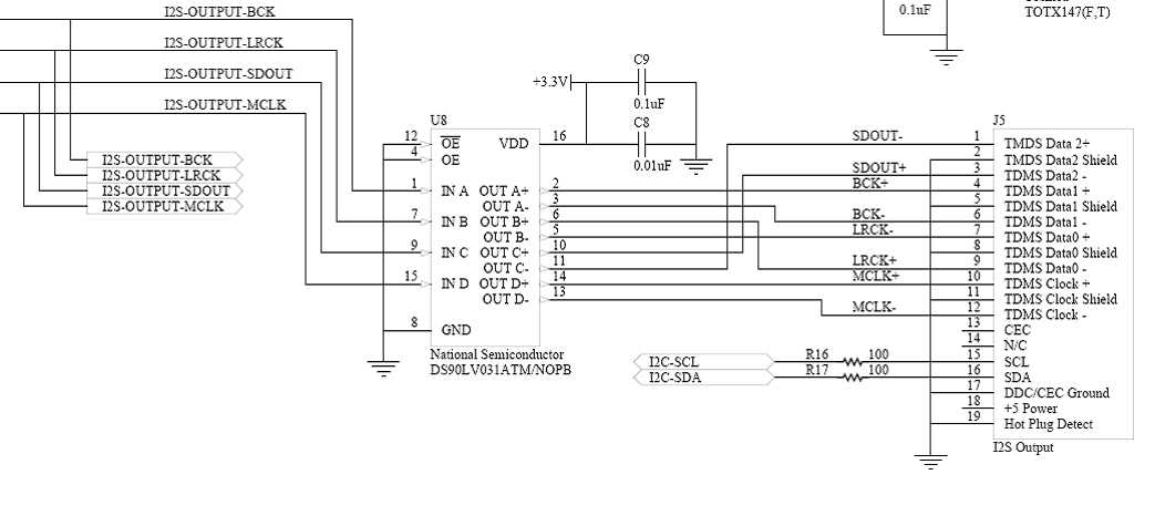 hdmi to rca schematic