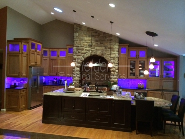 Under Cabinet Lighting Fielder Electrical Services Inc
