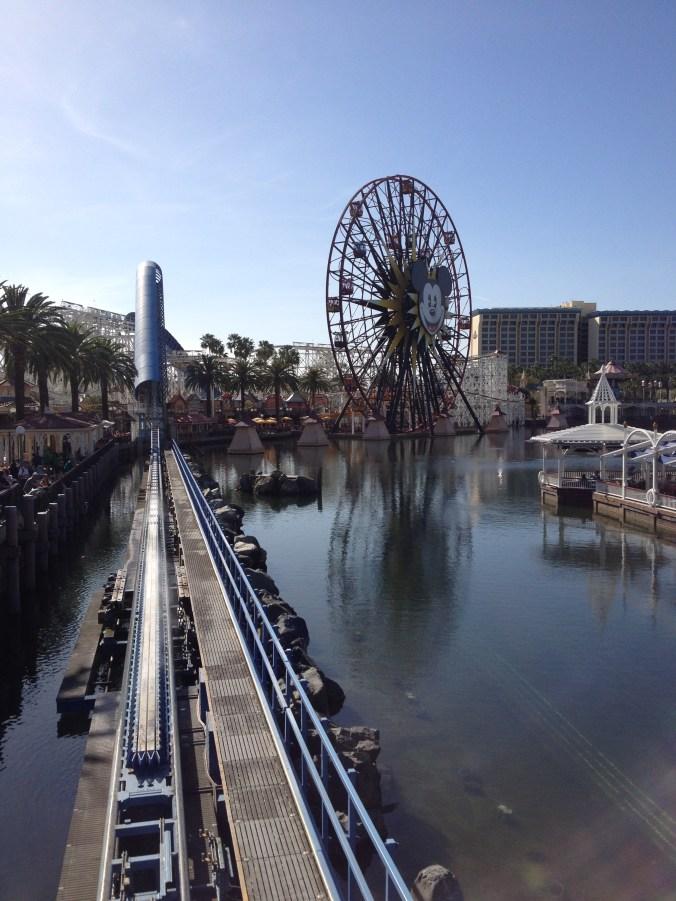 "California screamin' and Mickey's Death Wheel....I mean ""fun"" wheel"